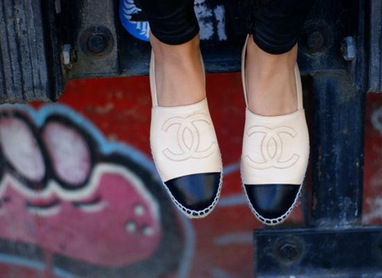 chanel espadrilles #shoeenvy