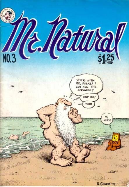 Mr Natural Images Mr Natural 1 Mr Natural Issue Robert Crumb Robert Crumb Comic Robert Crumb Art