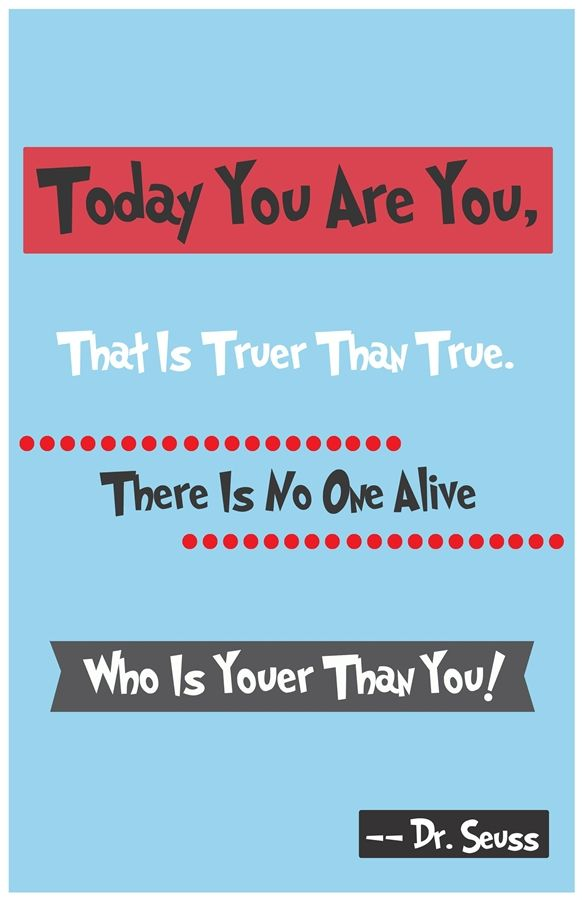 """Dr. Seuss Quote Art - 11""""x17"""" Posters! 12 Prints to Choose From! 