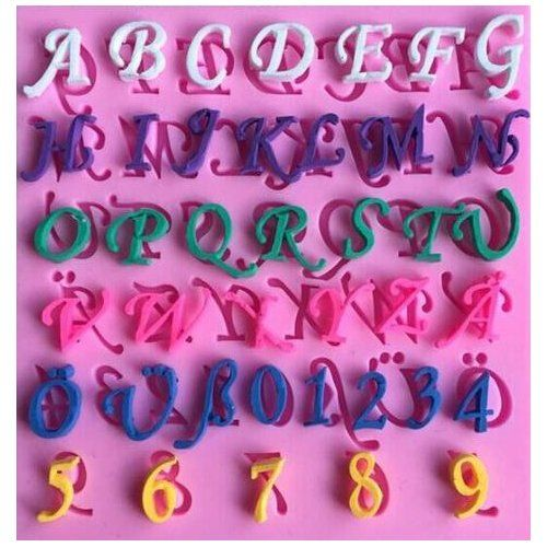 Cake Decorating Cutters Sugarcraft Tappit Capital Letters /& Numbers