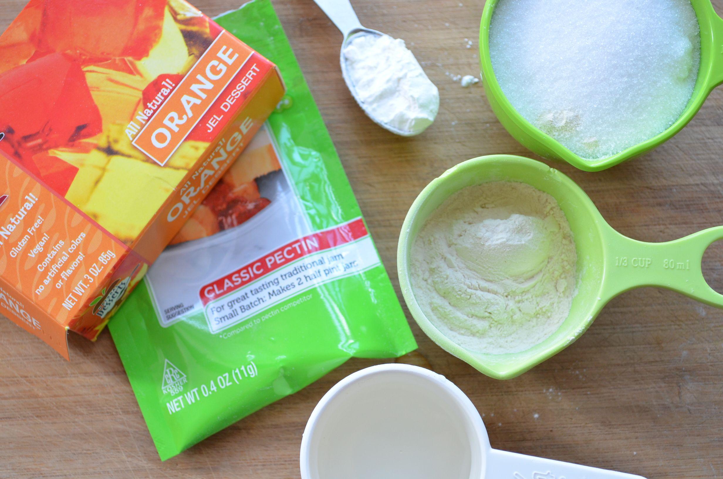 Orange Cream Vegan Marshmallows