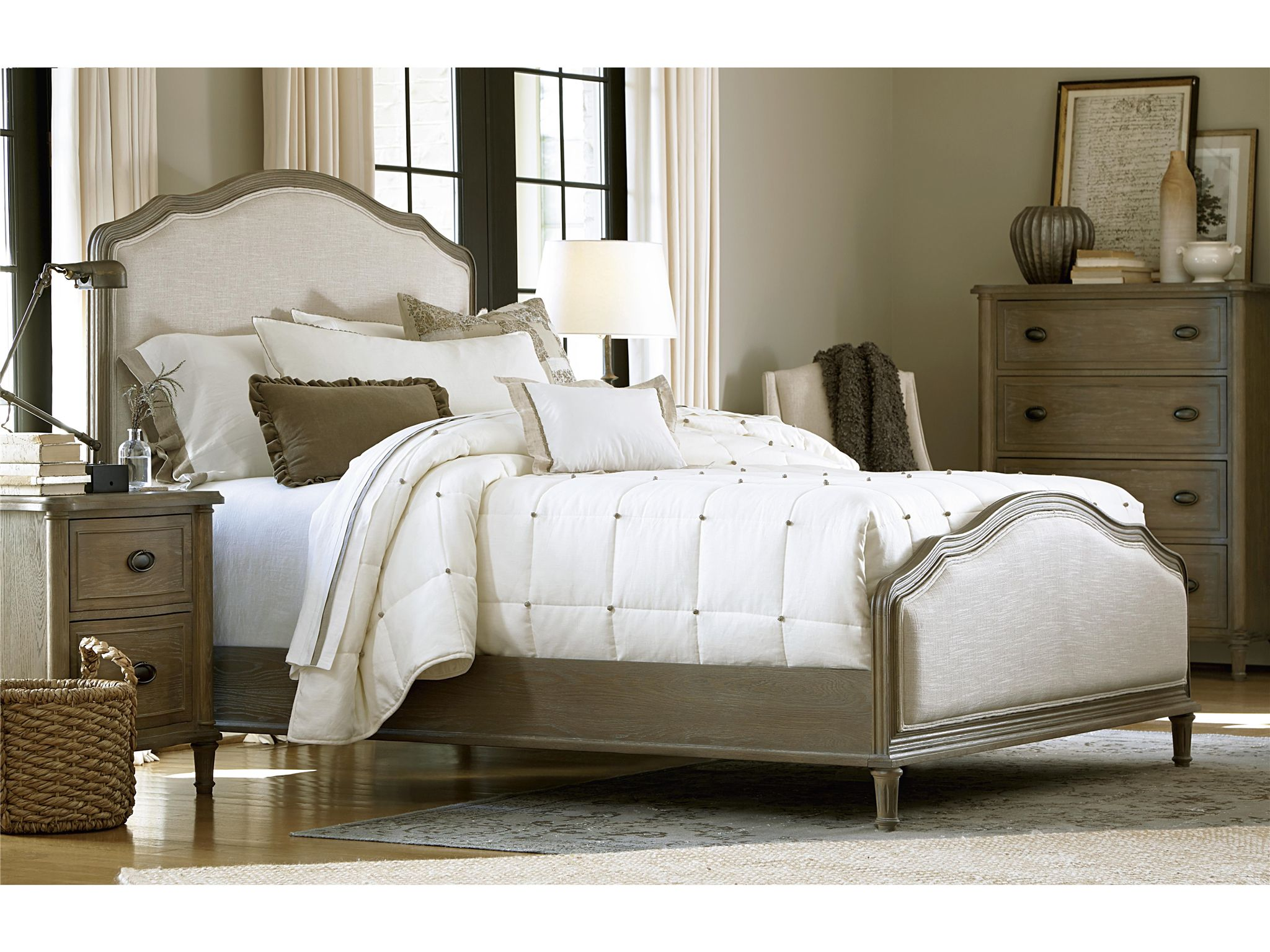 Universal Furniture | Curated | Devon Bed (King) | Panel Beds ...