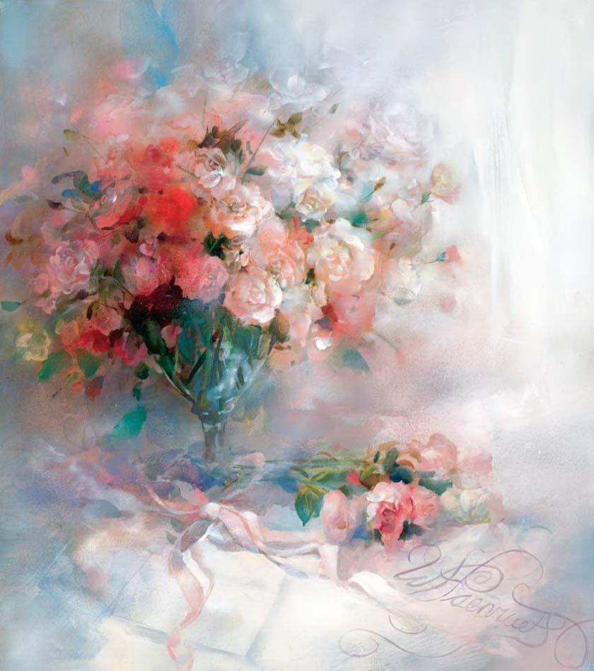 Hudozhnik Willem Haenraets Flower Art Art Watercolor Art