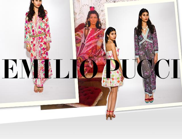 Pucci Pucci Pucci  Vintage lookbook from Cara Mia Vintage