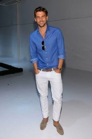 19ccf530ad2f How to Wear White Pants (290 looks)