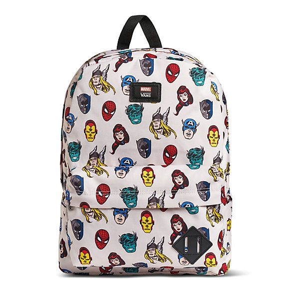 x Marvel Old Skool Backpack | Shop Mens Backpacks | Marvel