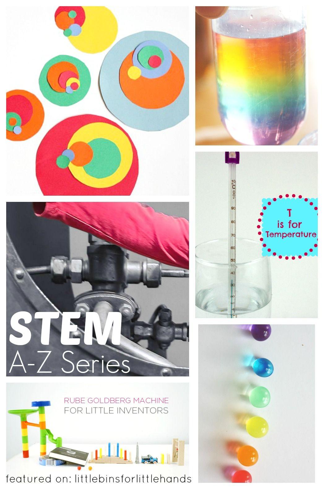 Kids STEM Activities A-Z Science Tech Engineering Math ...