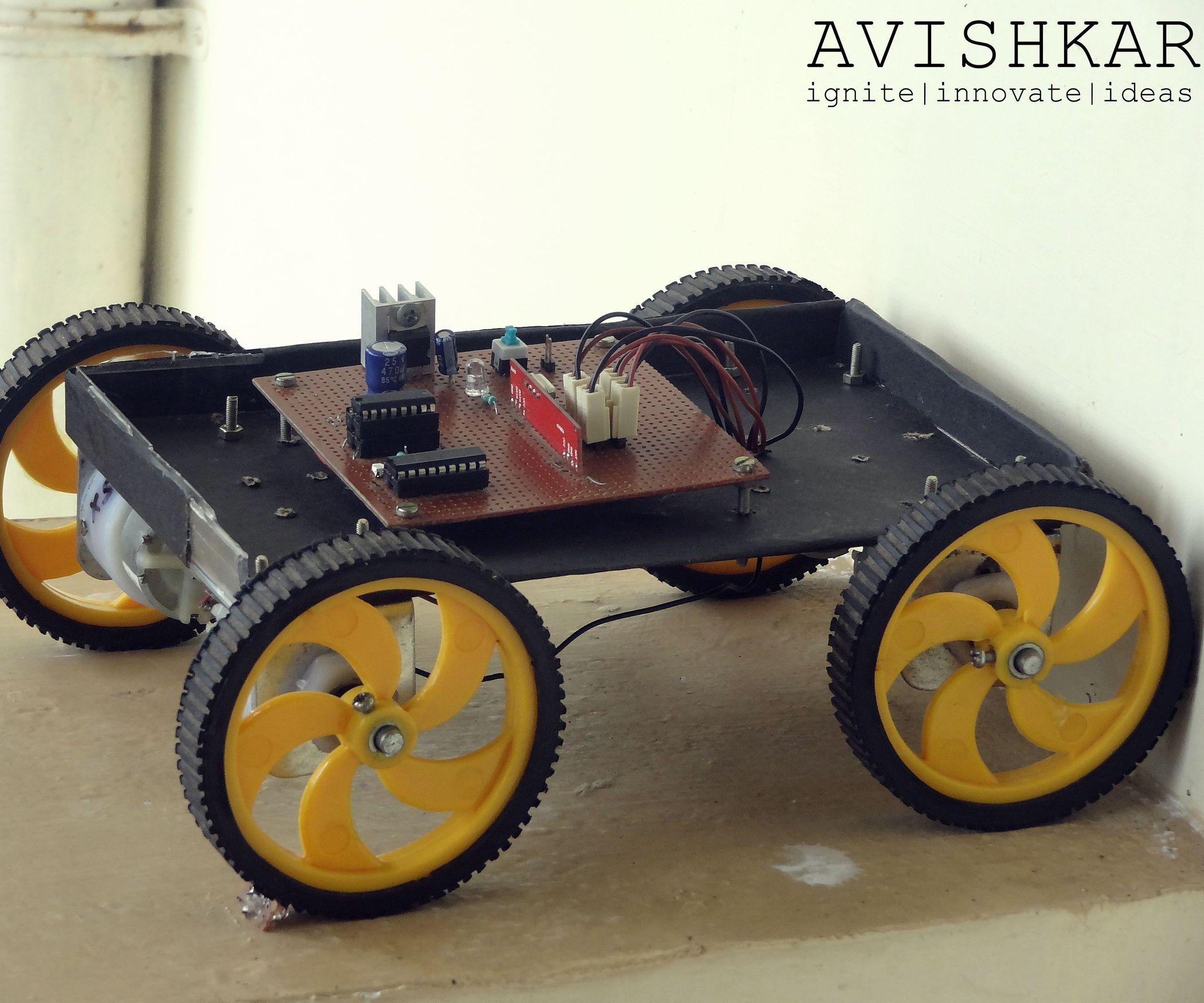 Remote Control Car A Piece Of Cake Remote Control Cars Diy