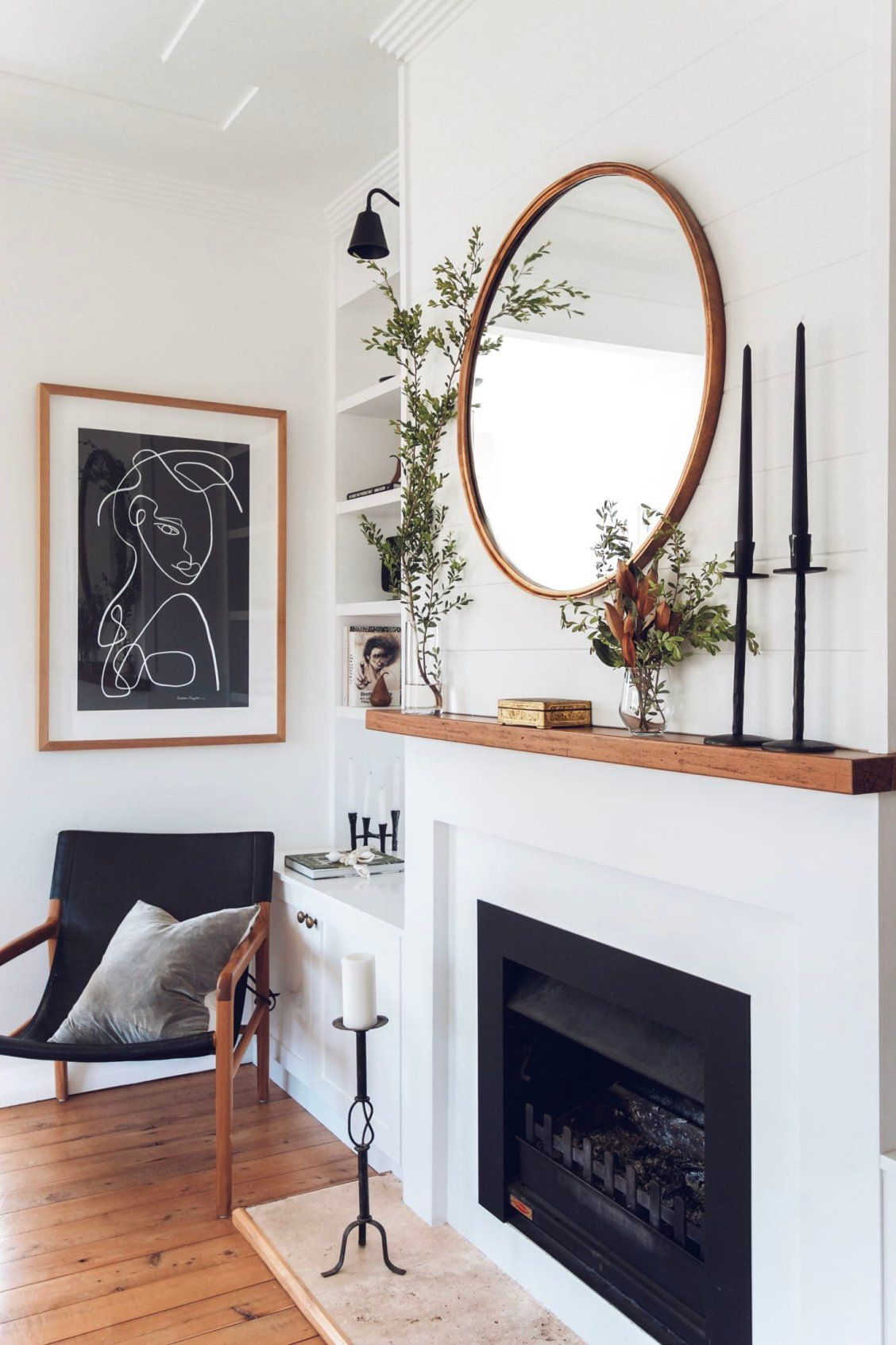 Photo of How to Style your Fireplace Mantel Like the Pros