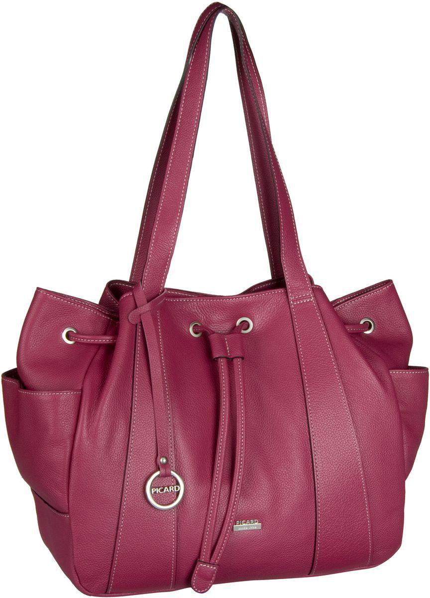 Picard Claudie Handtasche Pink - Beuteltasche