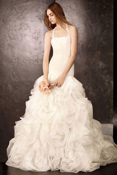 Вера Вонг свадебные платья с длинным шлейфом