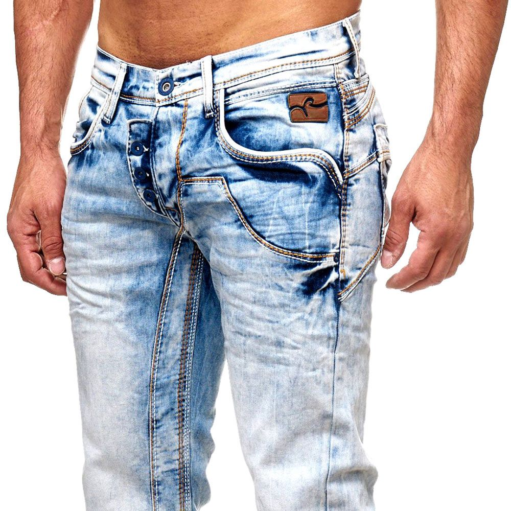 Rusty Neal Herren Jeanshose Used Look R-NEAL Jeans Hose Weiß Dicke Naht  8442-31   Kleidung   Accessoires, Herrenmode, Jeans   eBay! b673815072