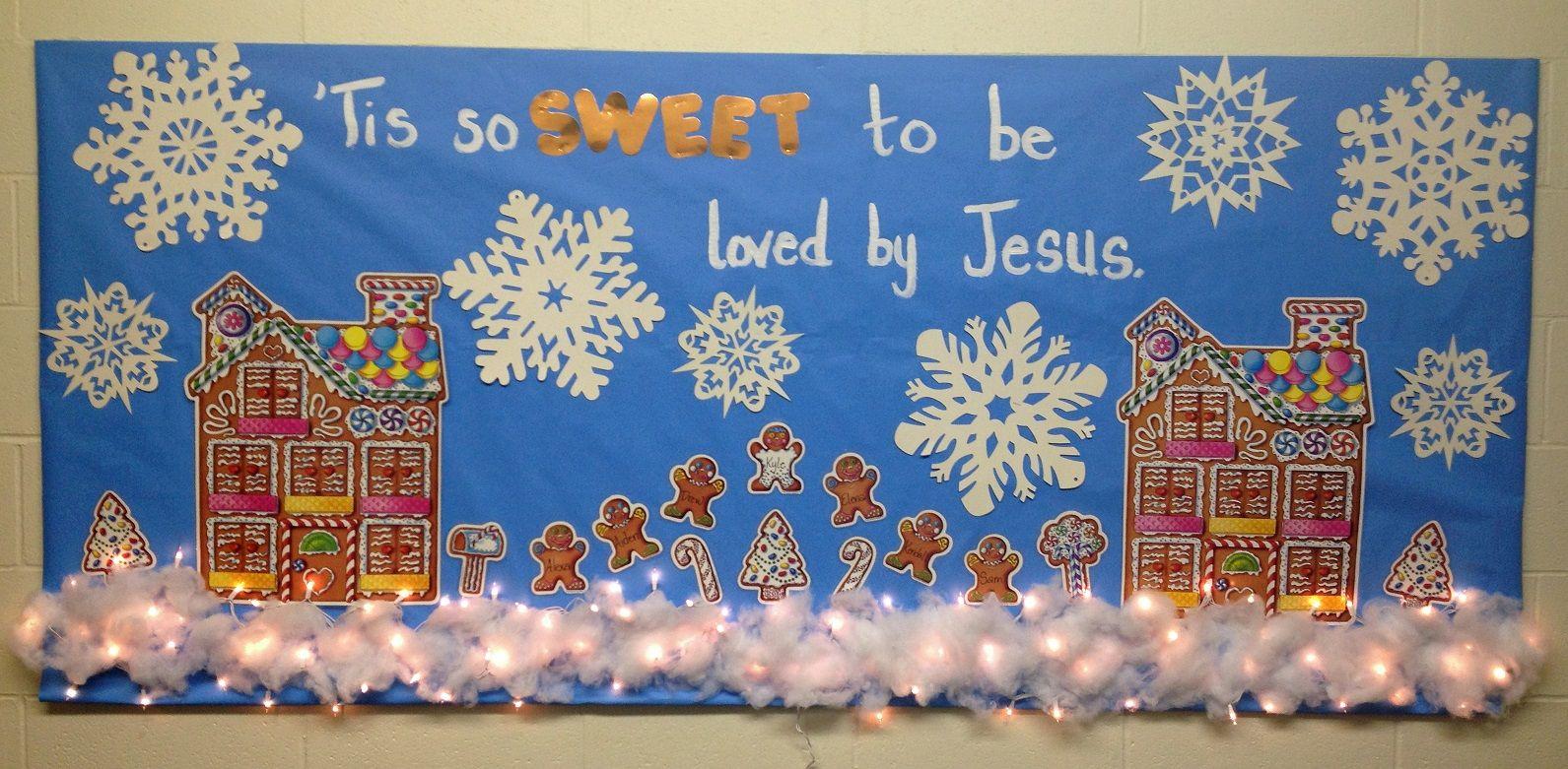 Richfield Church Of Christ Mn Winter Bulletin Board Idea For 2 3