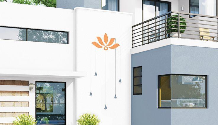 Get Range Of Wall Art Exterior Home Spiritual Designs Asian Paints Exterior Wall Art Asian Paints House Outside Design