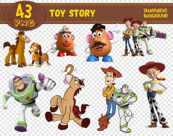 Pin by Etsy on Products Toy story, Clip art, Printables