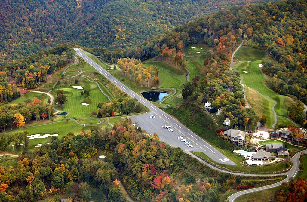Mountain Air Airport Burnsville, North Carolina, USA