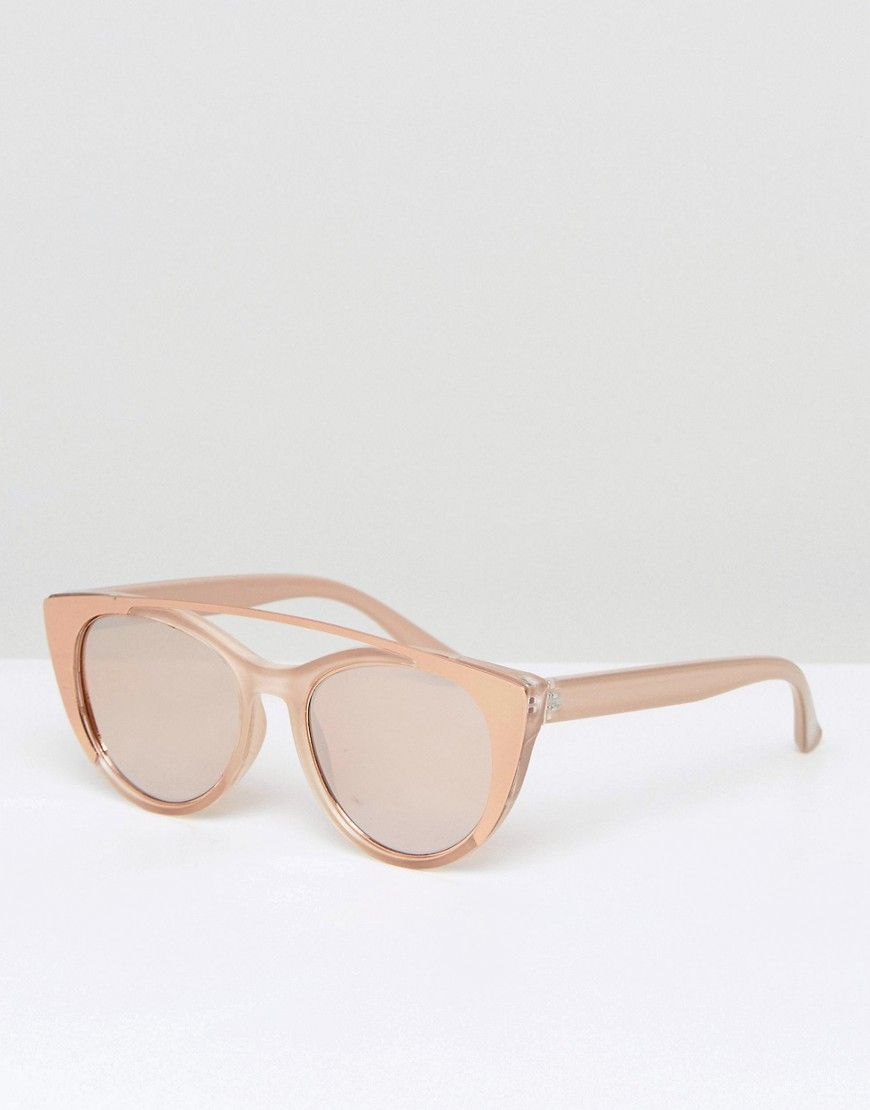 6f391a31534 ALDO Silberberg Rose Gold Sunglasses - Gold