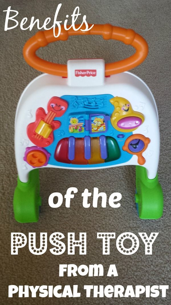 Benefits Of The Push Toy Before Walking A Physical Therapist