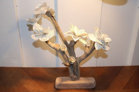 Bouquet de fleur en bois flotté a lire Projets à essayer