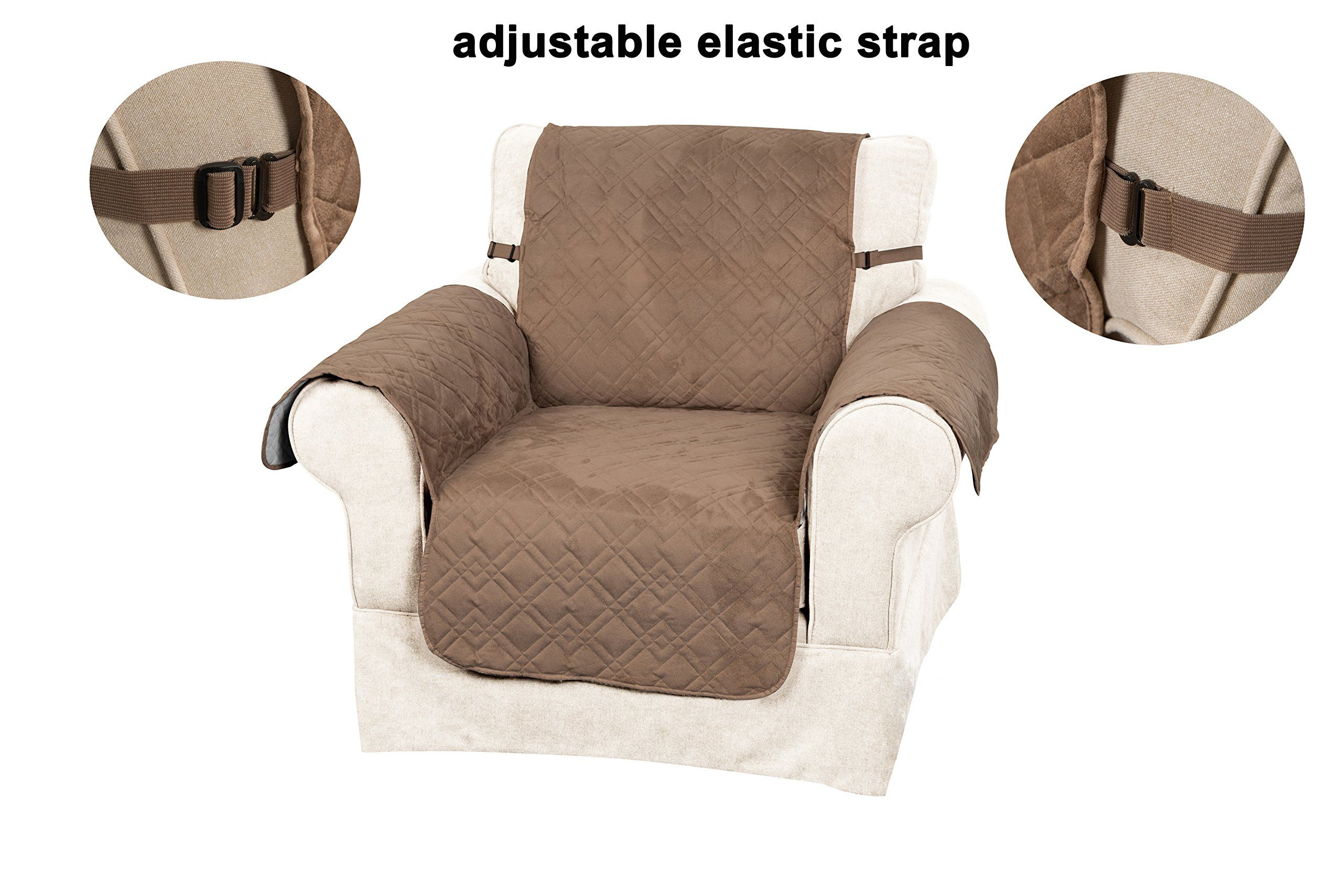 Fabulous Innx Slipcovers Made Of Quilted Microfiber Suede For Pets Machost Co Dining Chair Design Ideas Machostcouk