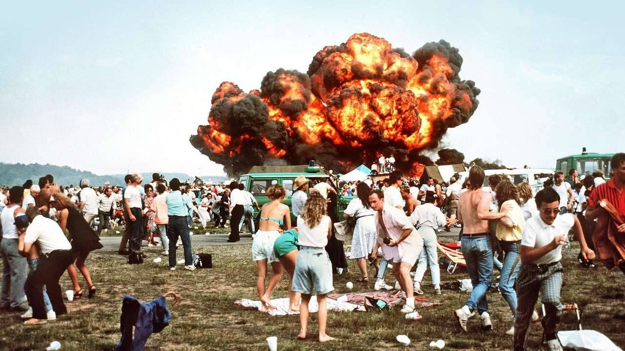Ramstein, Germany, Air Base Disaster 1988 Air show