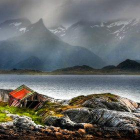 Fishermans Hut, Lofoten Islands, Norway