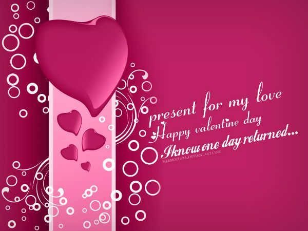 Creative And Beautiful Happy Valentines Day Greeting Card