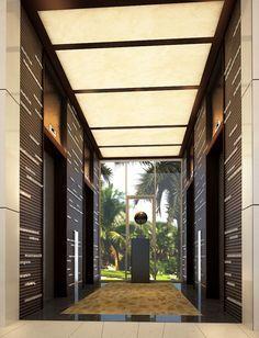 residence lift lobby design - Google Search | lift | Pinterest ...