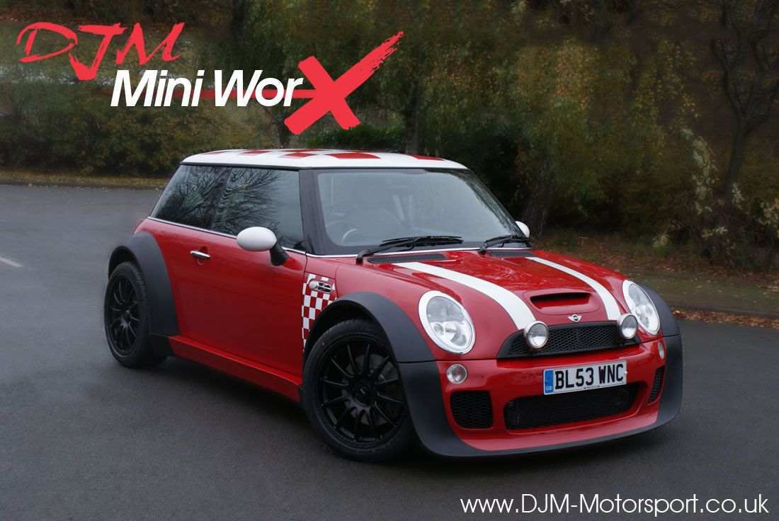 Djm motorsport mini worx long wheelbae wide arch mini cooper s