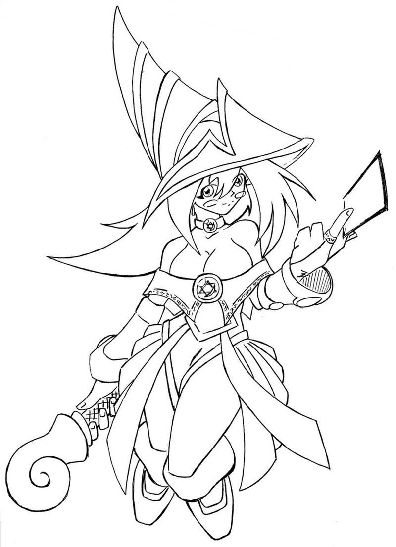 Dark Magician Coloring Pages Free Coloring Pages Cartoon Coloring Pages Free Coloring Pages