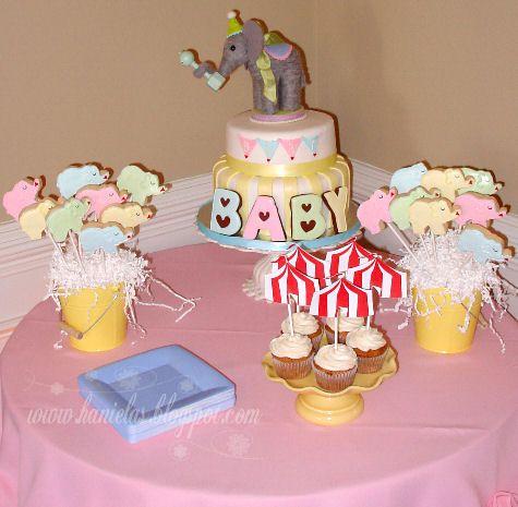 Haniela's: ~Circus Elephant Baby Shower~