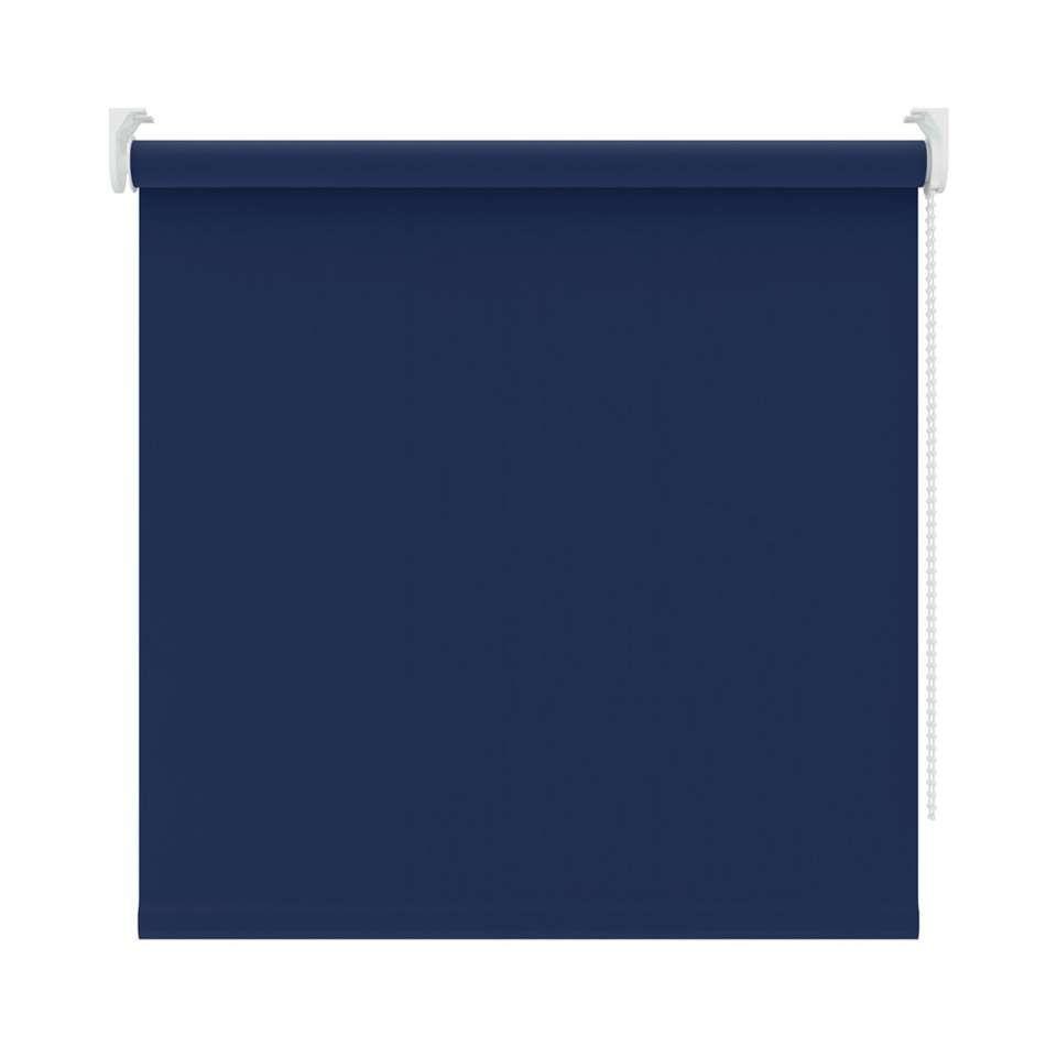 Rolgordijn verduisterend - blauw - 90x190 cm http://www.leenbakker ...