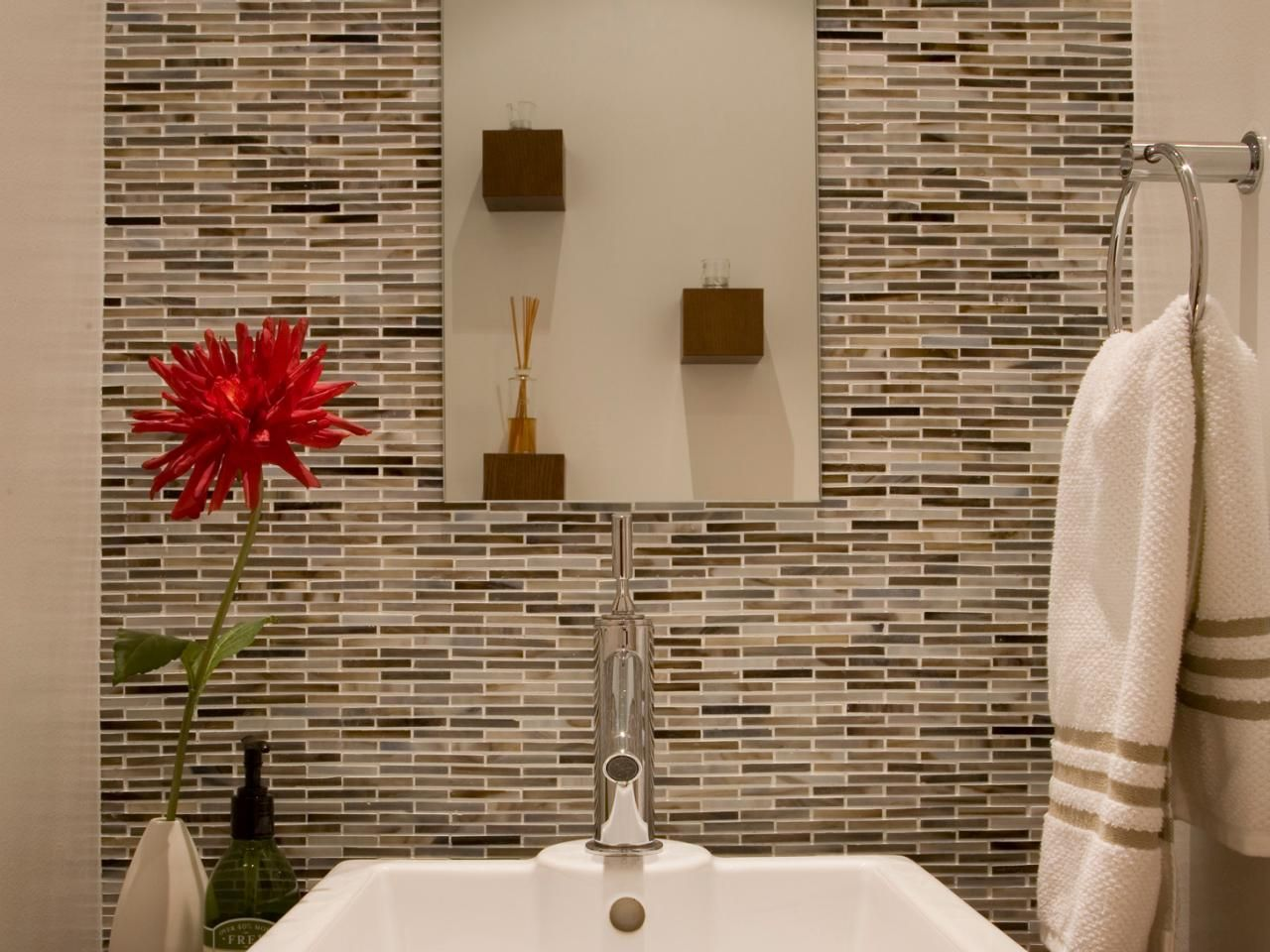 Bathroom Design Zen Style Powder Room Master Bathroom Tile