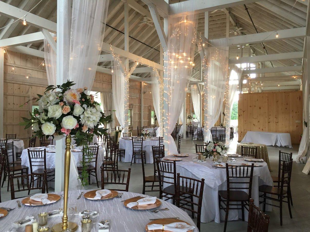 Perfect Maryland wedding reception venue. Stunning barn ...