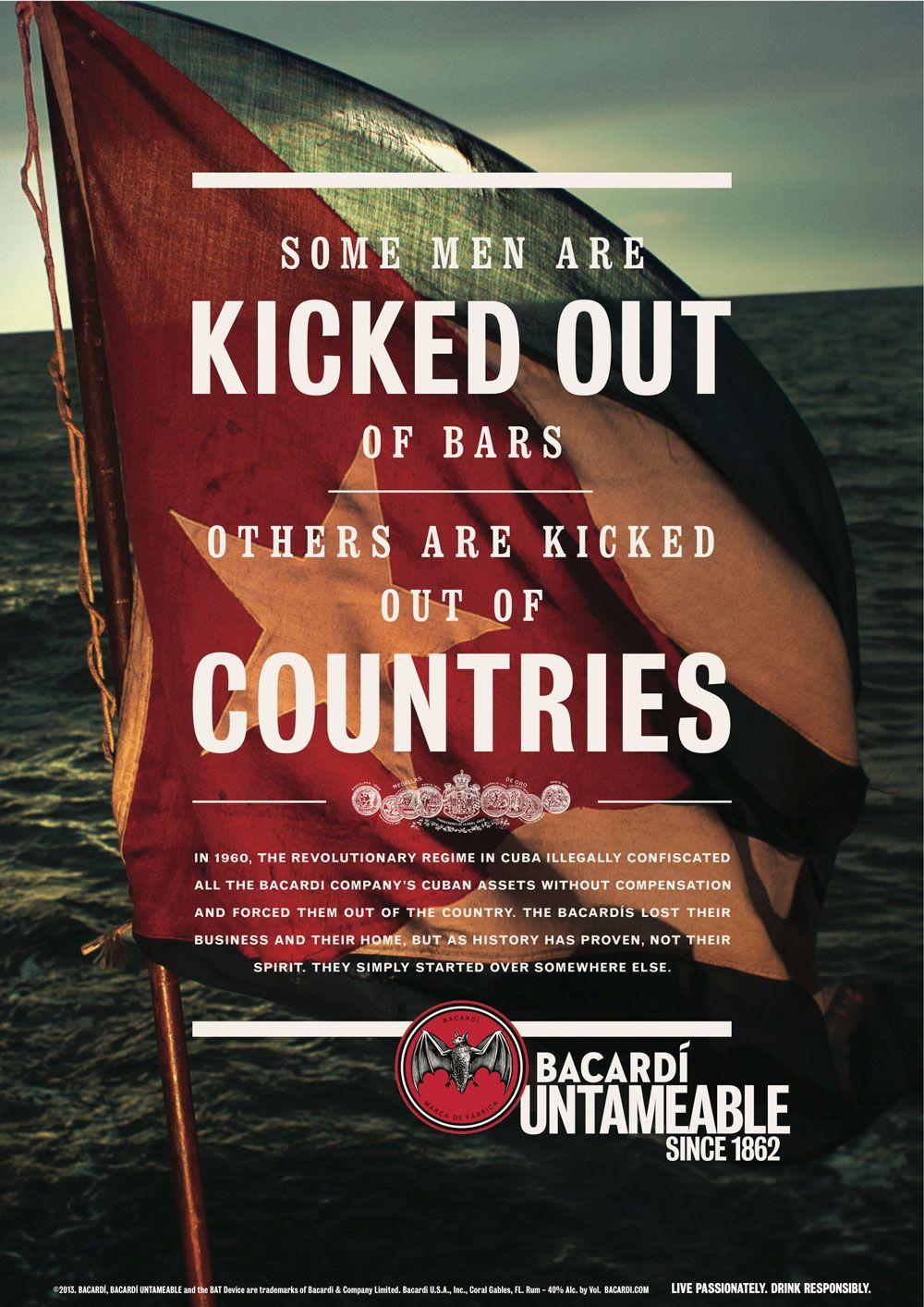 Bacardi Camp King Bacardi Bacardi Rum Print Ads