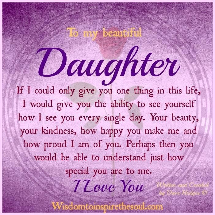 To My Aniah Baby Girl My Daughter My Baby Girl My Heart Being