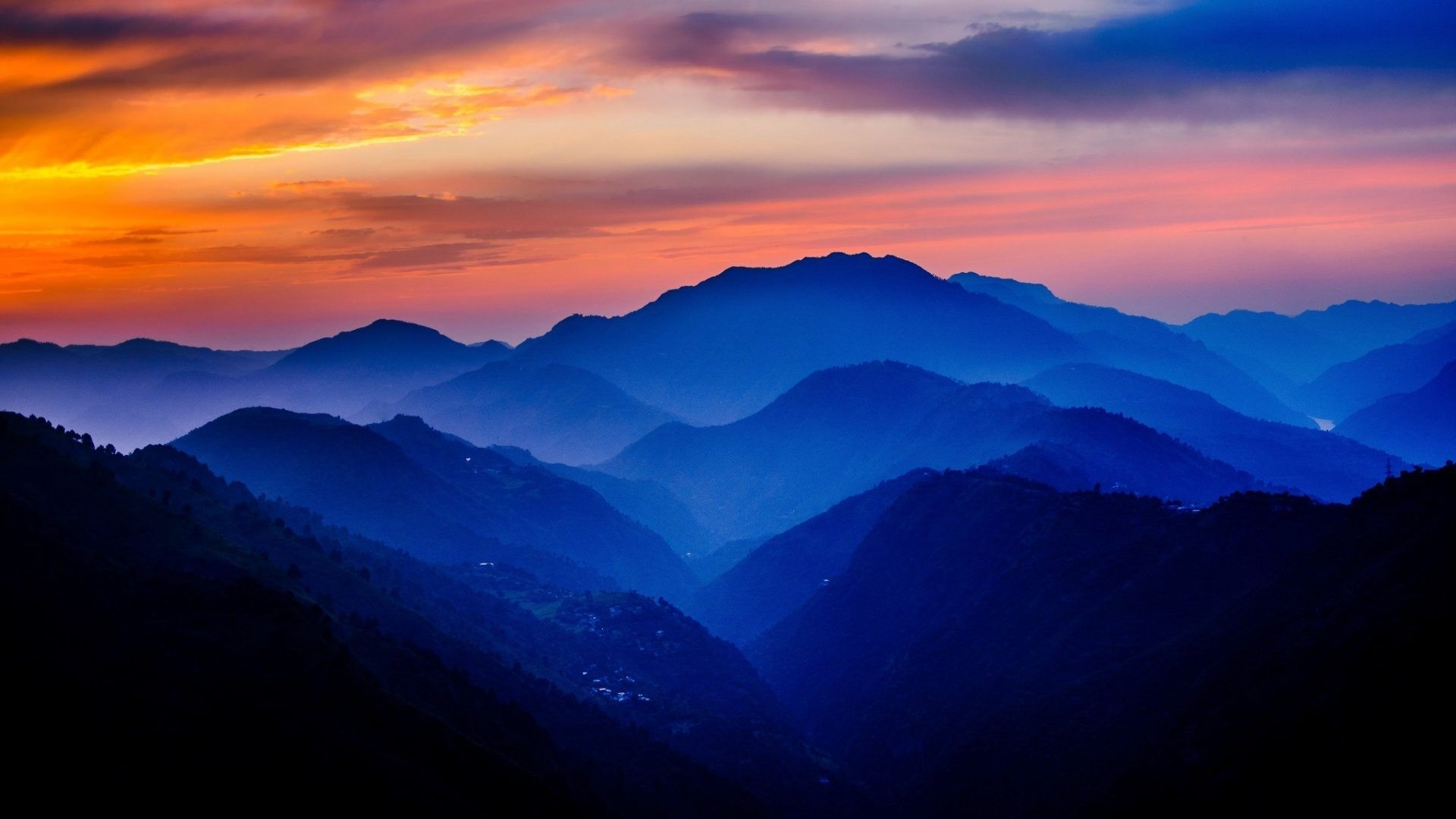 hd-mountain-sunset-wallpapers-android (1920×1080) | amazing