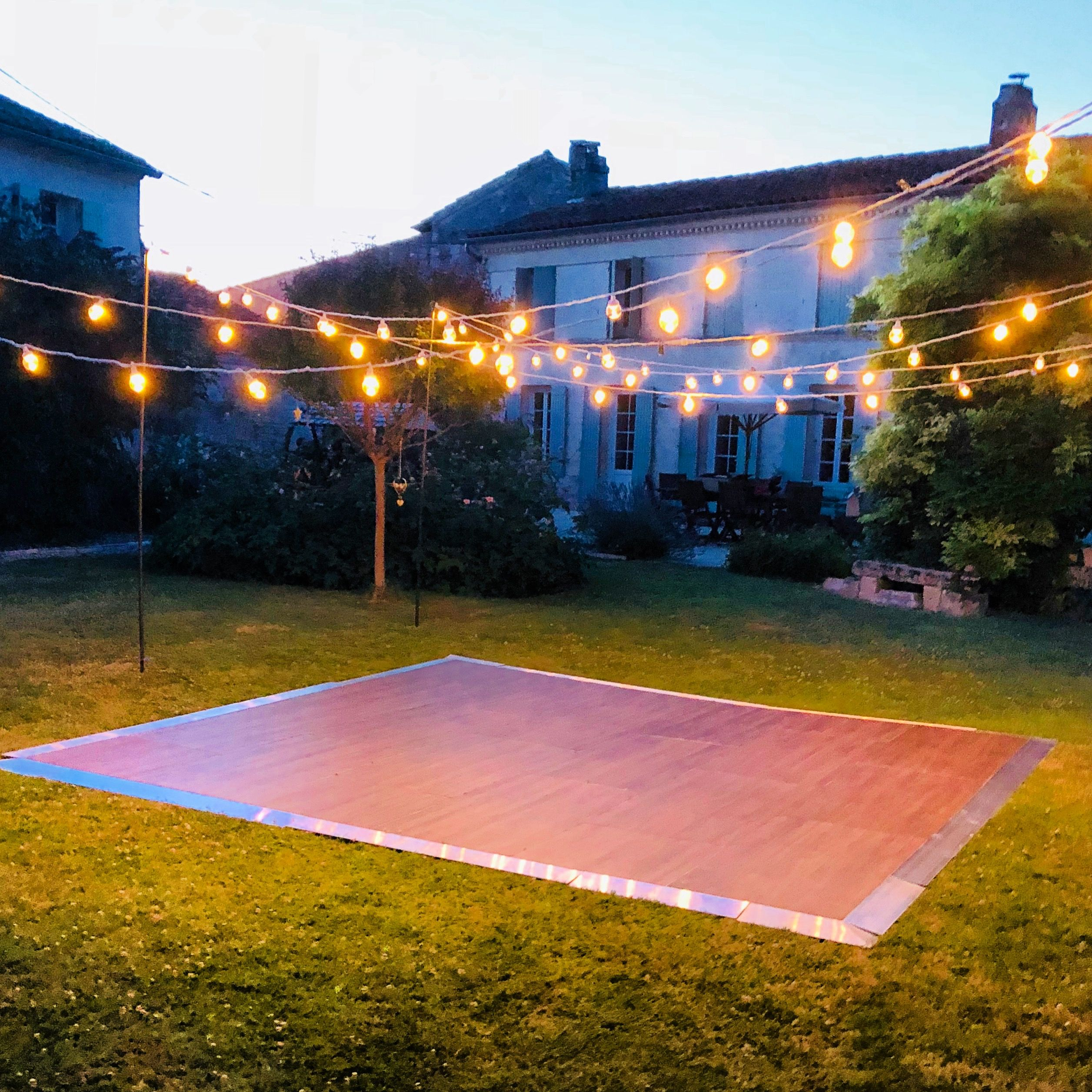 Pin By Syeda Arfa On Zuha S Wedding Outdoor Dance Floors Outdoor Dance Floor