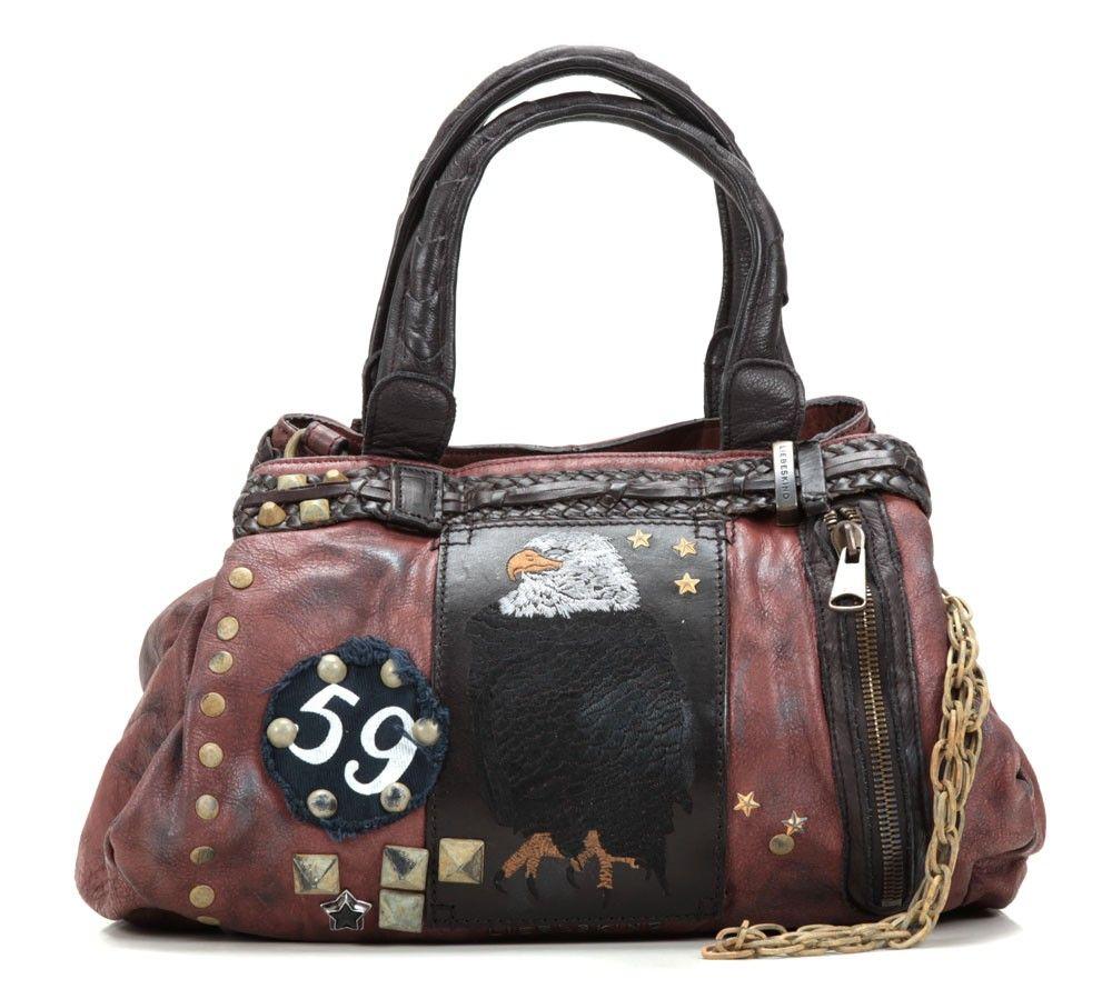 8402fb6d974b9e wardow.com - Tasche von Liebeskind, Punk Bags Xena Handtasche Leder rot 39  cm