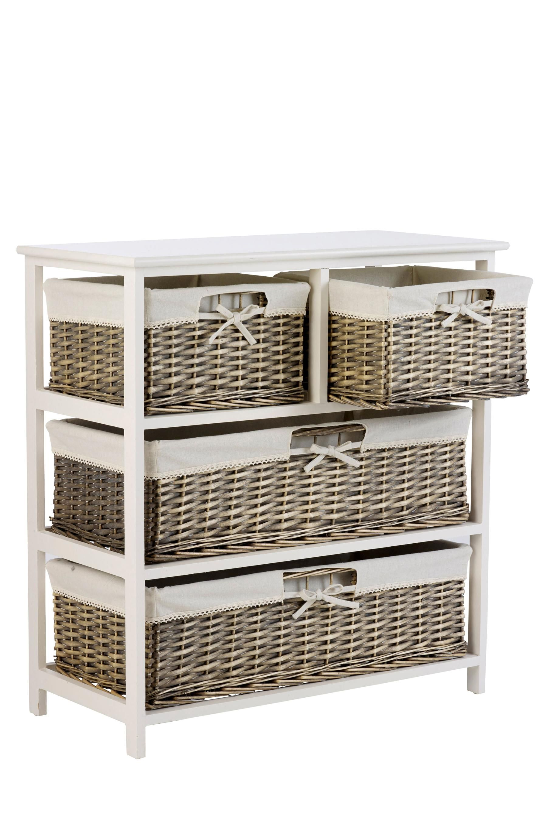 Buy Natural Wicker Wide 4 Drawers Storage Unit From The Next UK Online Shop