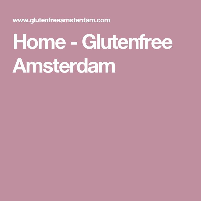 Home - Glutenfree Amsterdam