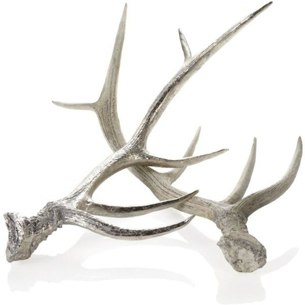 Faux Deer Antler ($50) ❤ Liked On Polyvore Featuring Home, Home Decor,