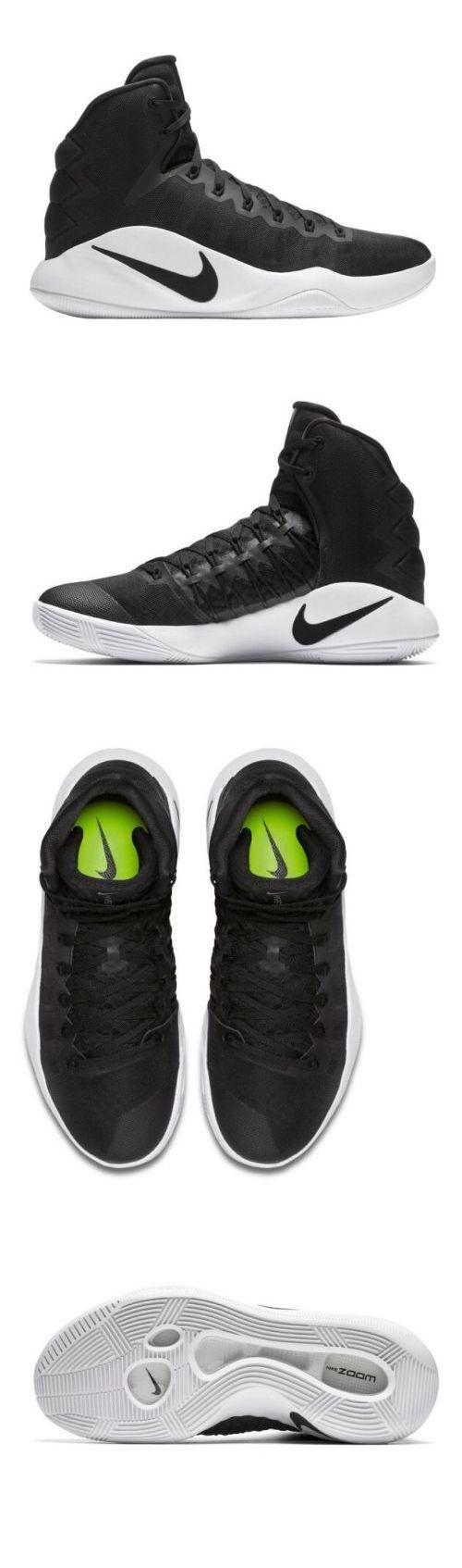 Men 158971: Men Nike Hyperdunk 2016 Tb Basketball Athletic Shoes Black  844368-001 Multi