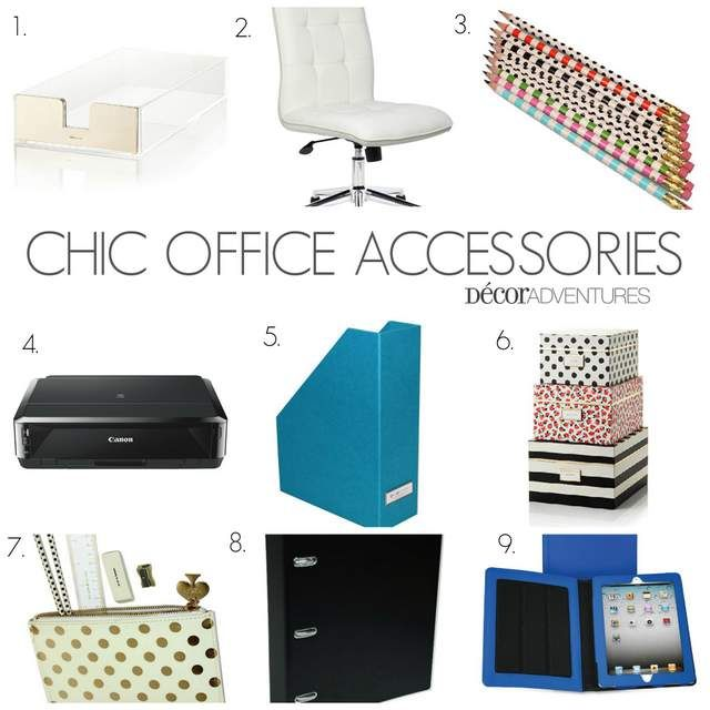 A Curated Collection Of Chic Office Supplies