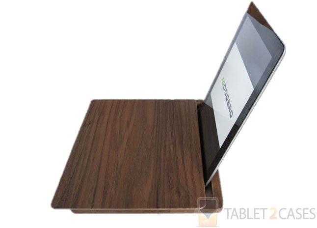 Woodero Curve Apple iPad 2 / 3 / 4 Walnut Wood Case review