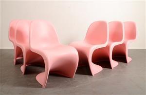 the panton chairs