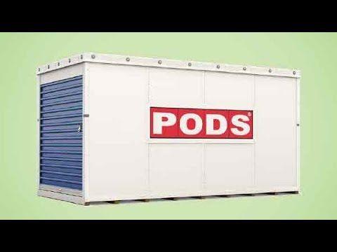 Mobile storage pods