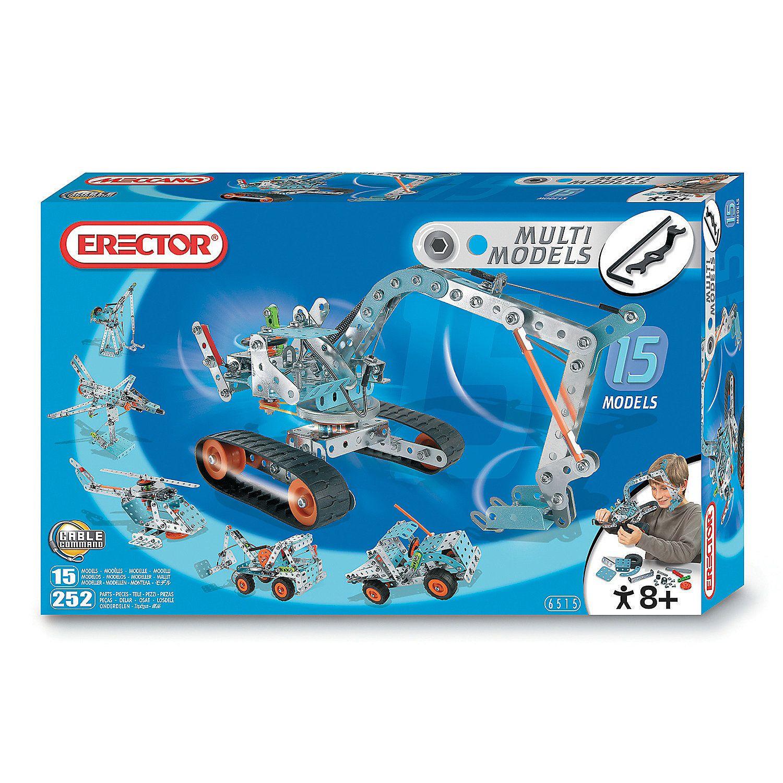 Erector 15model set discontinued erector set meccano