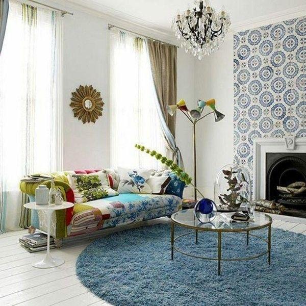Round Rug 30 New Proposals Decor10 Blog Round Rug Living Room Living Room Decor Room Decor