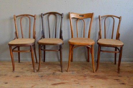 Fischel sedie ~ Chaise bistrot thonet fischel bois courbé n° rétro vintage antic